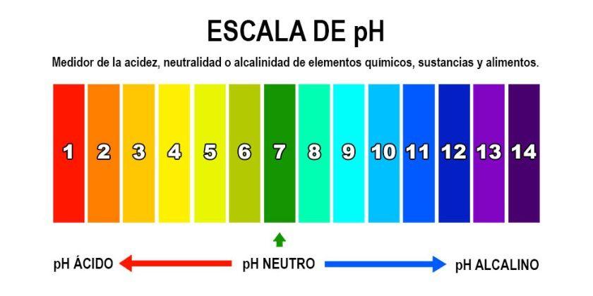 pH del agua
