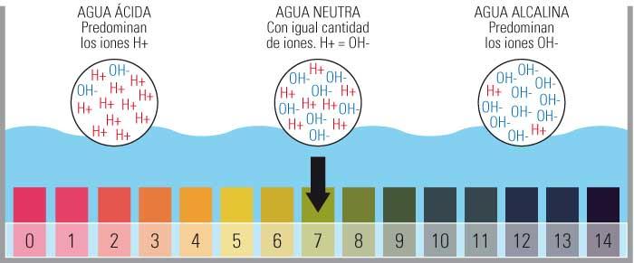 reducir el nivel de pH del acuario