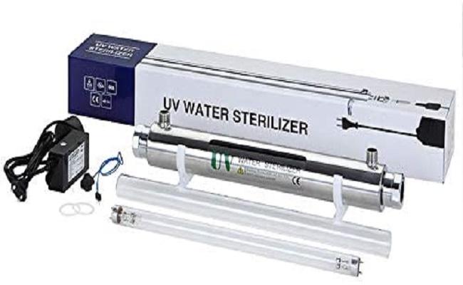 Esterilizadores ultravioleta.